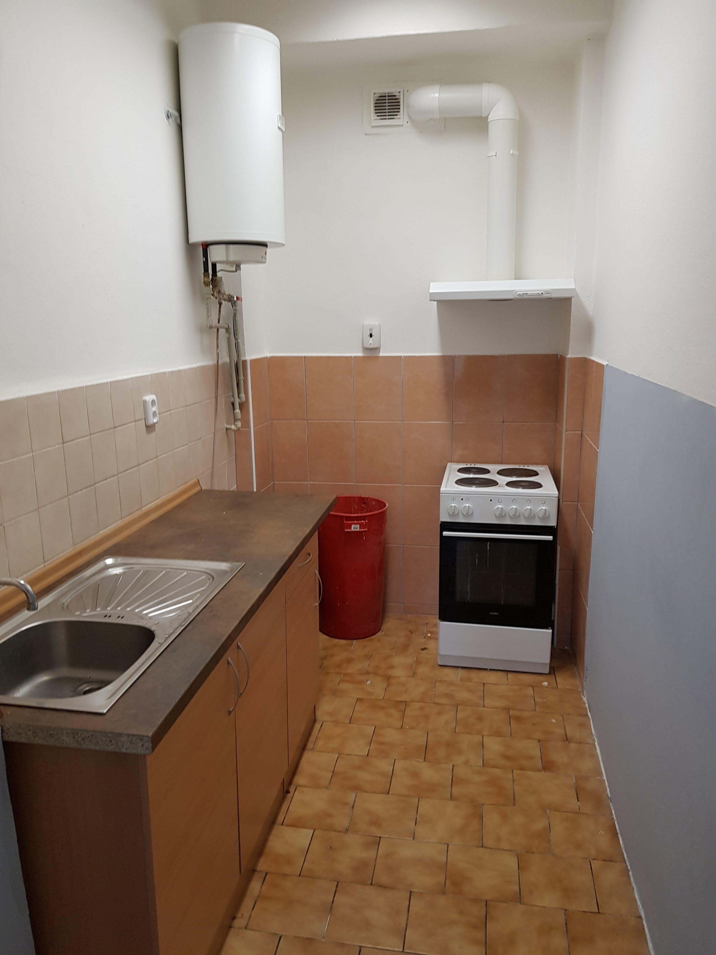 Kuchyňka na patře